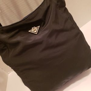 Bottega Veneta Bags - Bottega Veneta black nylon tote